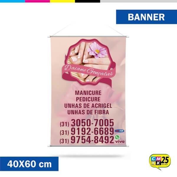 Detalhes do produto Banner 40x60cm