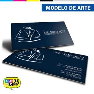 Detalhes do produto Cartão de Visita Advogado - Azul
