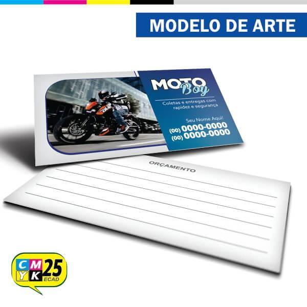 Detalhes do produto Cartão de Visita Motoboy - 08