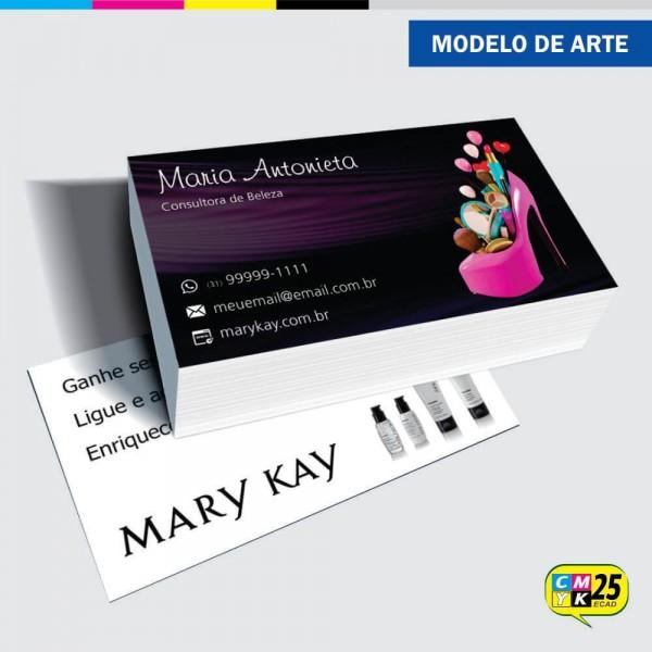 Detalhes do produto Cartão de Visita Mary Kay - 04