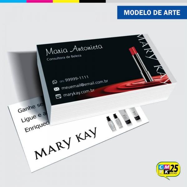 Detalhes do produto Cartão de Visita Mary Kay - 05