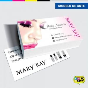 Detalhes do produto Cartão de Visita Mary Kay - 06
