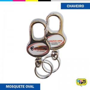 Detalhes do produto Chaveiro Mosquete Oval