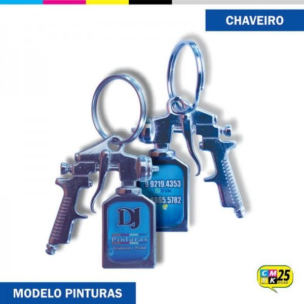 Detalhes do produto Chaveiro Pistola de Pintura
