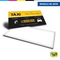 Cartão de Visita Táxi - 01