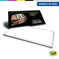 Cartão de Visita Táxi - 02