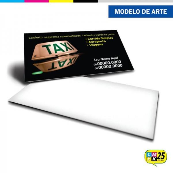 Detalhes do produto Cartão de Visita Táxi - 02