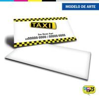 Cartão de Visita Táxi - 03