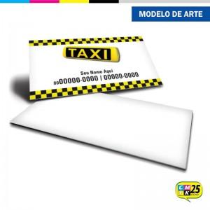 Detalhes do produto Cartão de Visita Táxi - 03