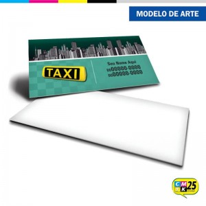 Detalhes do produto Cartão de Visita Táxi - 04