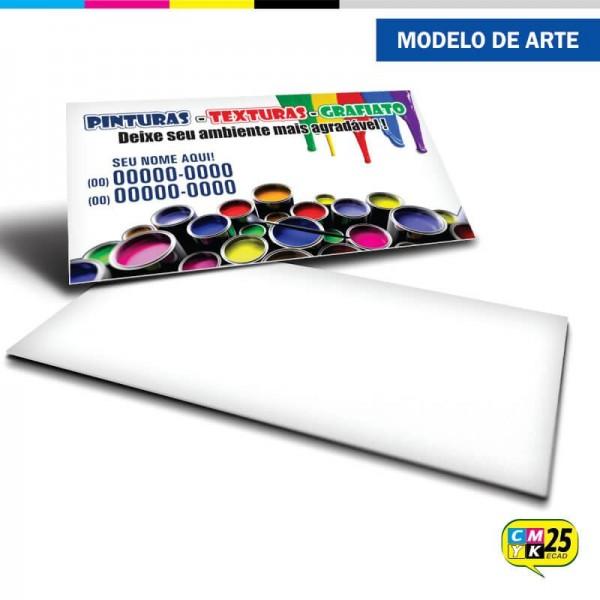 Detalhes do produto Cartão de Visita Pintor - 03
