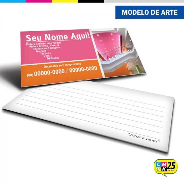 Detalhes do produto Cartão de Visita Pintor - 05