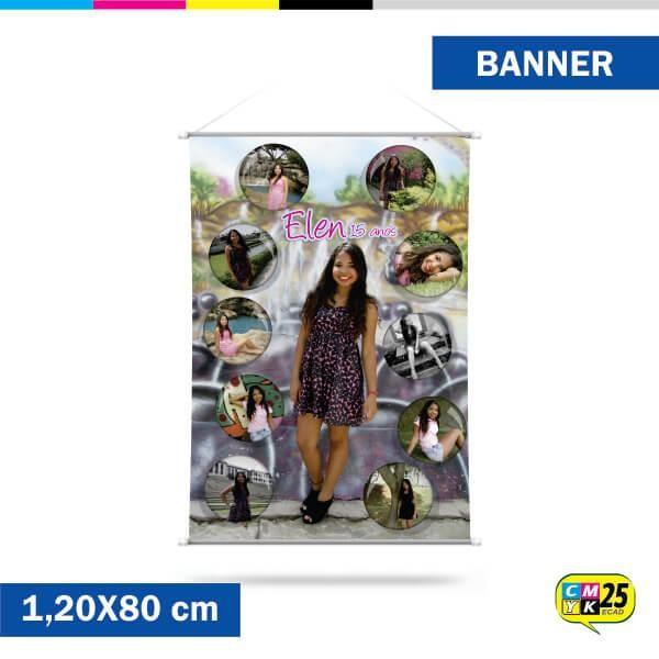 Detalhes do produto Banner 80x120cm - Ilhós