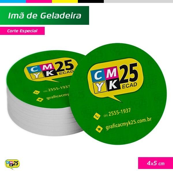 Detalhes do produto Ímã de Geladeira - 4x5cm - Corte Especial - 1000 Unid.