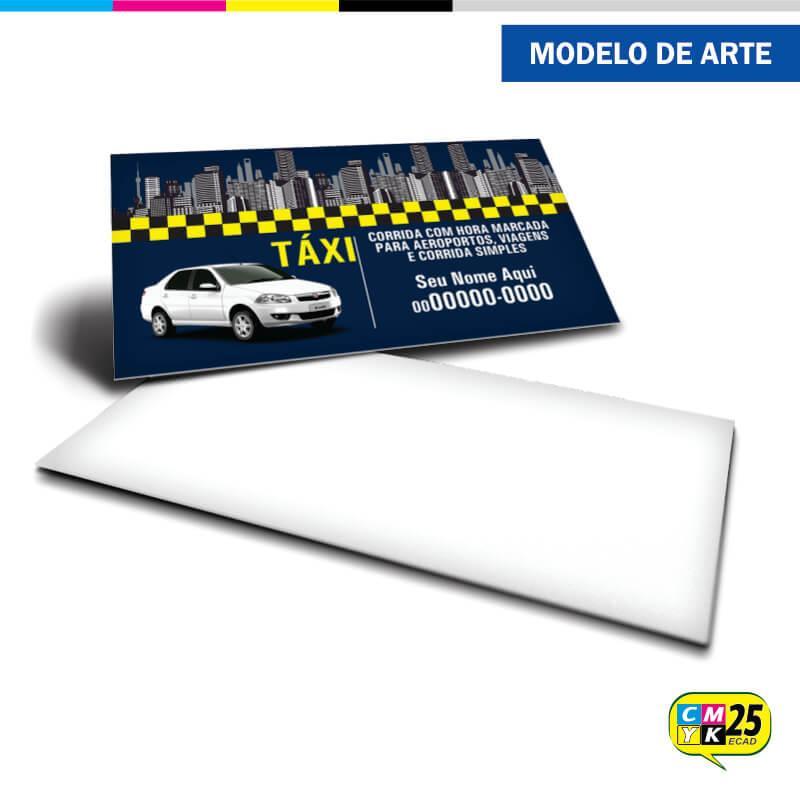 Cartão de Visita Táxi - 05